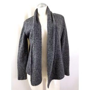 Eileen Fisher Size M Gray Wool Cardigan